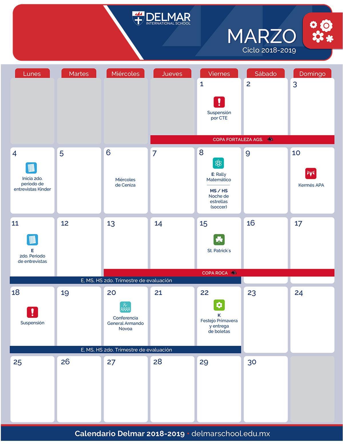 03-2 Calendario Delmar School